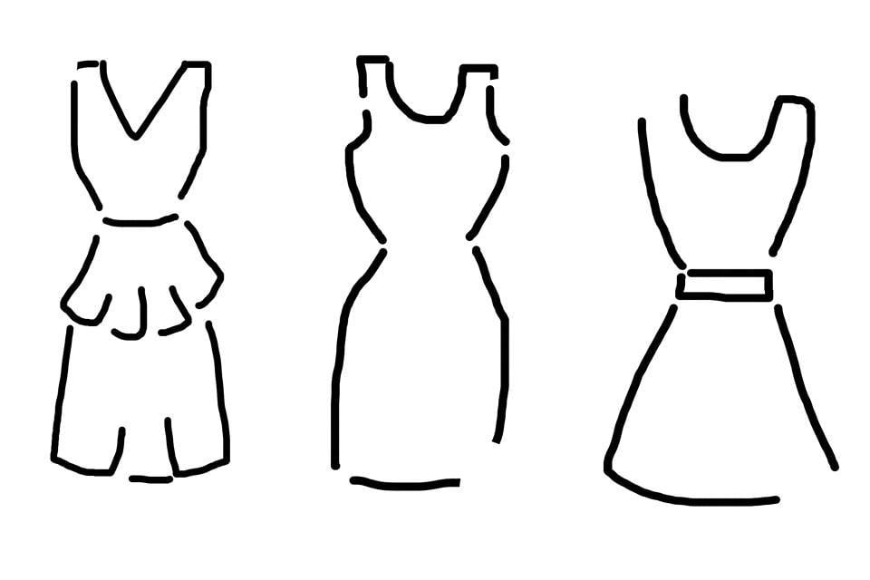 fa8fb788c9 Jak dobrać sukienkę do figury - Myśli Potarganej